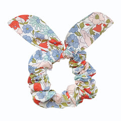 Liberty Poppy & Daisy Scrunchie