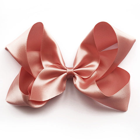 Large Sweet Nectar Satin Hair Clip