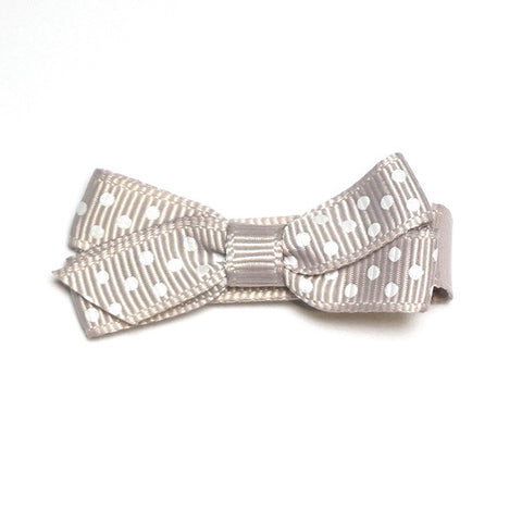 Small Carmandy Polka Dot Hair Clip