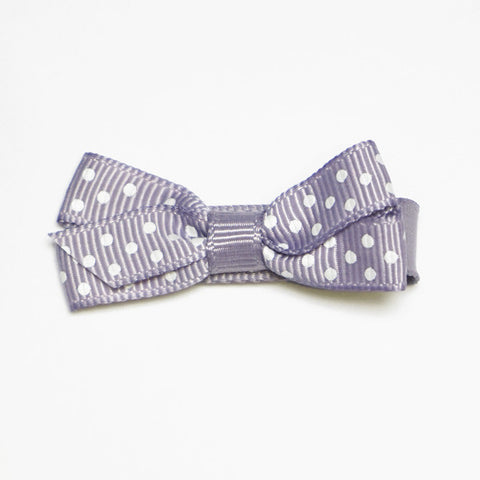 Small Thistle Polka Dot Hair Clip