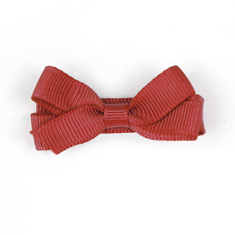 Small Poppy Red Hair Clip