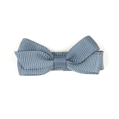 Small French Blue Hair Clip