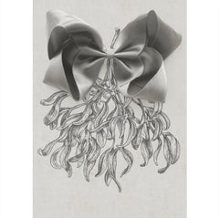 Large Gift Set Silver Satin