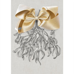 Large Gift Set Gold Satin