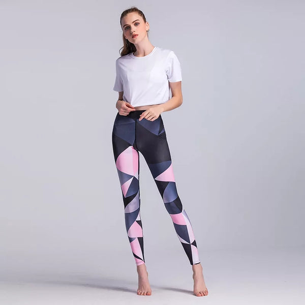 Fun Trend Full Length Fitness Leggings - Bottoms Leggings