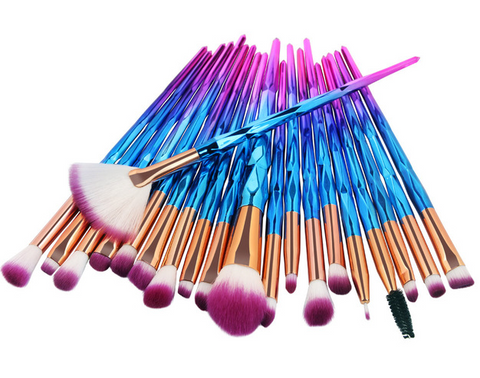 20pc Rainbow Unicorn Brush Set - TheMacLyfAus Leggings