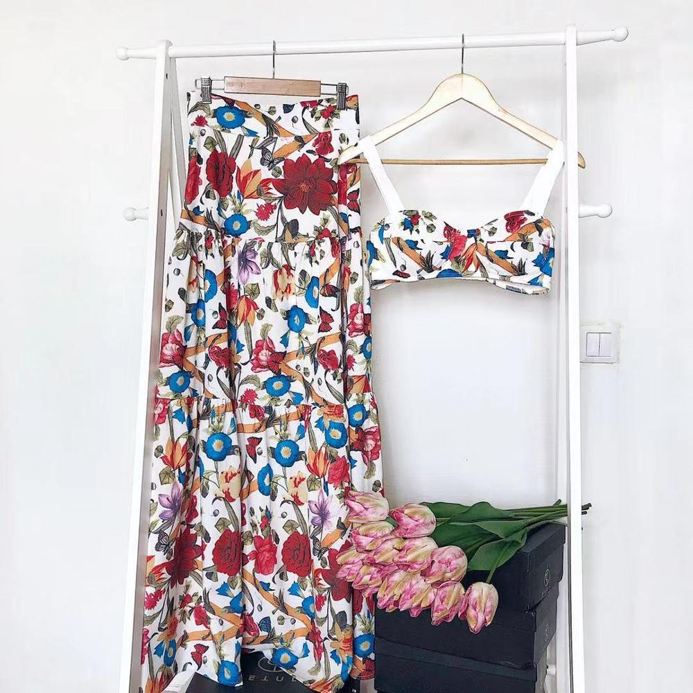 Bellflower Floral Summer Maxi - TheMacLyfAus Leggings