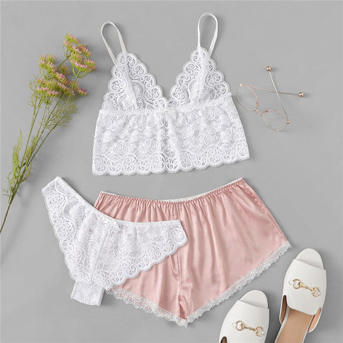 Lady Valkyrie Lace Pj Set