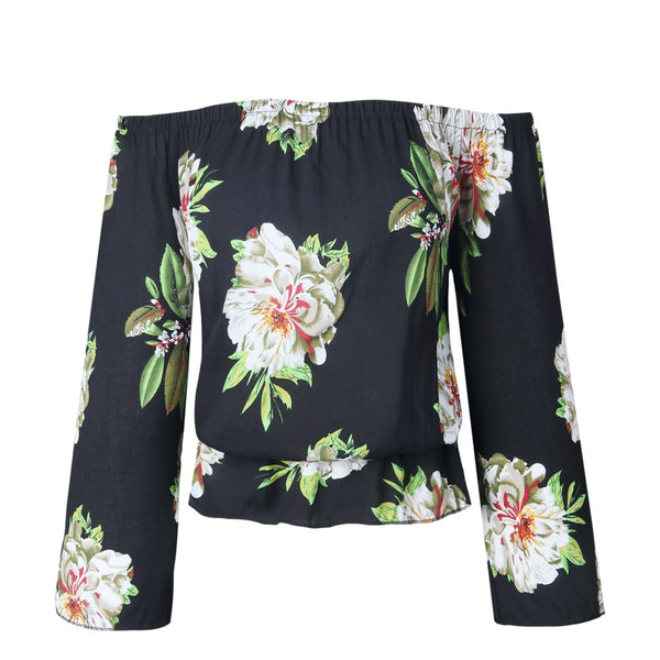 City Girl Floral Top - TheMacLyfAus Leggings