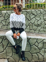 Lady Bell Tricolour Sweater - TheMacLyfAus Leggings