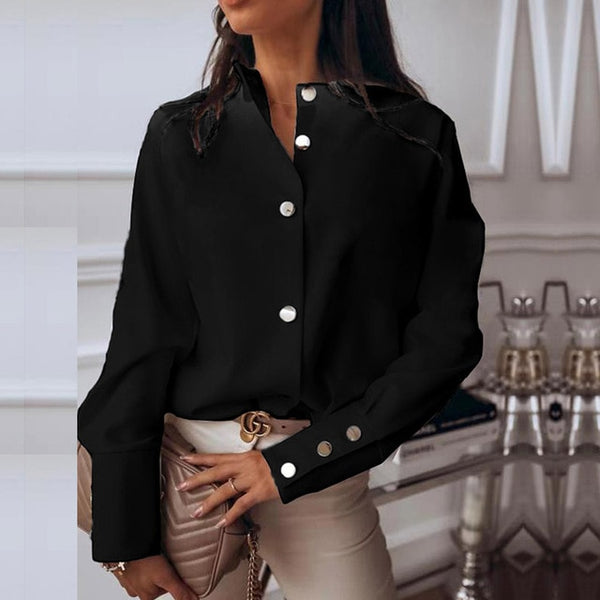 Stunning Work Then Play Blouse - TheMacLyfAus Leggings