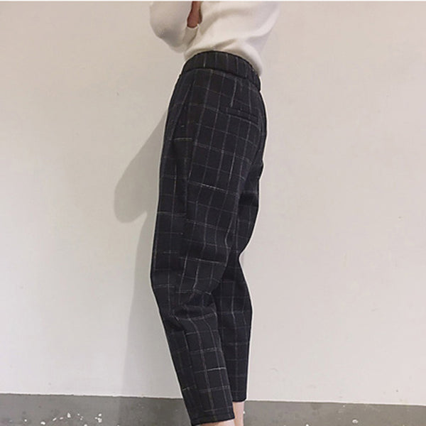 EDG Chic Plaite Lite Pants - TheMacLyfAus Leggings