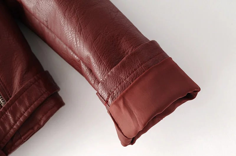 Soft Faux Leather Jackets - TheMacLyfAus Leggings