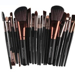 22Pc Makeup Brush Set - Beauty Eyes Face