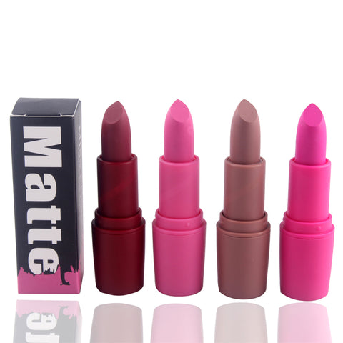 Miss Rose Nude Matte Lipsticks - Beauty Lips