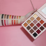 16 Colour Pigmented Eyeshadow Palette - Beauty Eyes