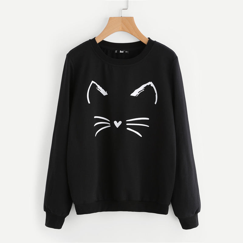 Casual Kitty Sweater - TheMacLyfAus Leggings