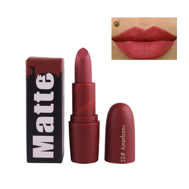 Miss Rose Nude Matte Lipsticks - Americanc - Beauty Lips