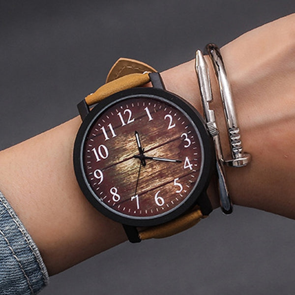 Iron-Bark Minimalist Watch - TheMacLyfAus Leggings