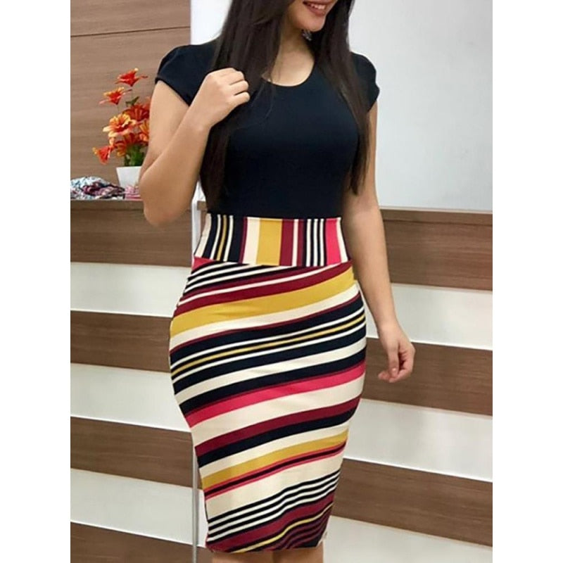 Cute 2019 Summer Pencil Dresses - Lollipop / L - Bottoms Dress Dresses Skirts Women