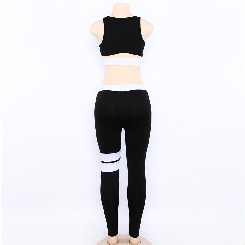 'High Feeling' Yoga Set - TheMacLyfAus Leggings
