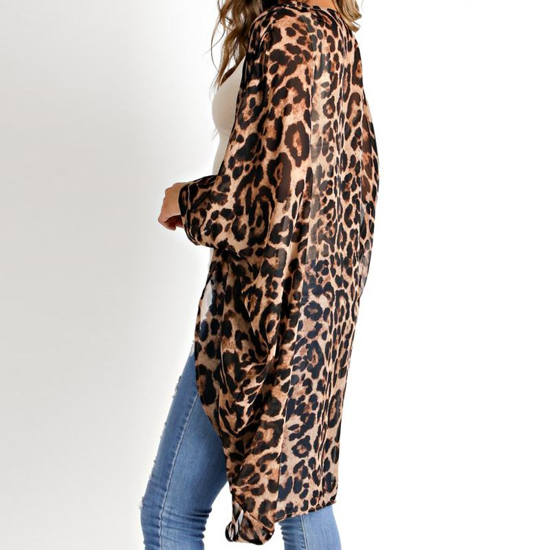 Leopard Print Cover Up - TheMacLyfAus Leggings