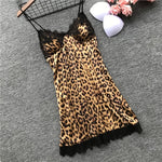 Designer 4 Piece Leopard PJ Set - TheMacLyfAus Leggings
