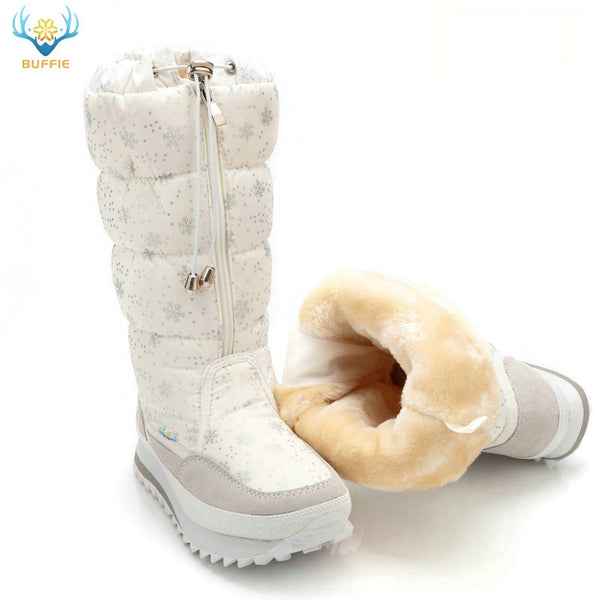 Buffie Luxe Designer Snow Boots - TheMacLyfAus Leggings