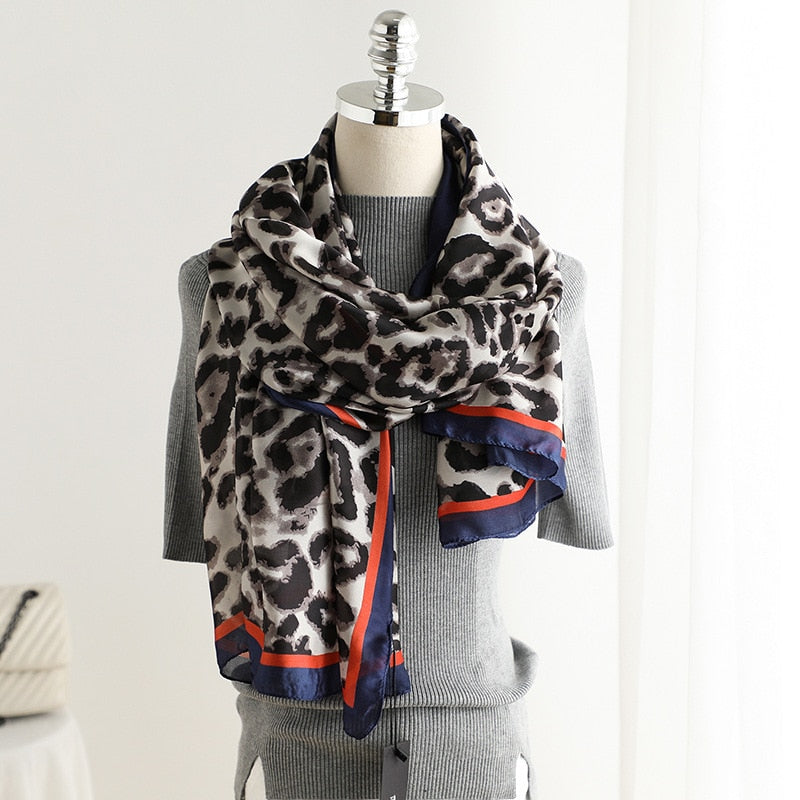 Jungle Walk Leopard Scarves - TheMacLyfAus Leggings