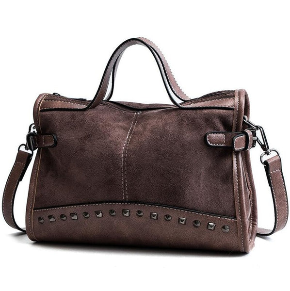 Rivet Faux EveryDay Girl Bag