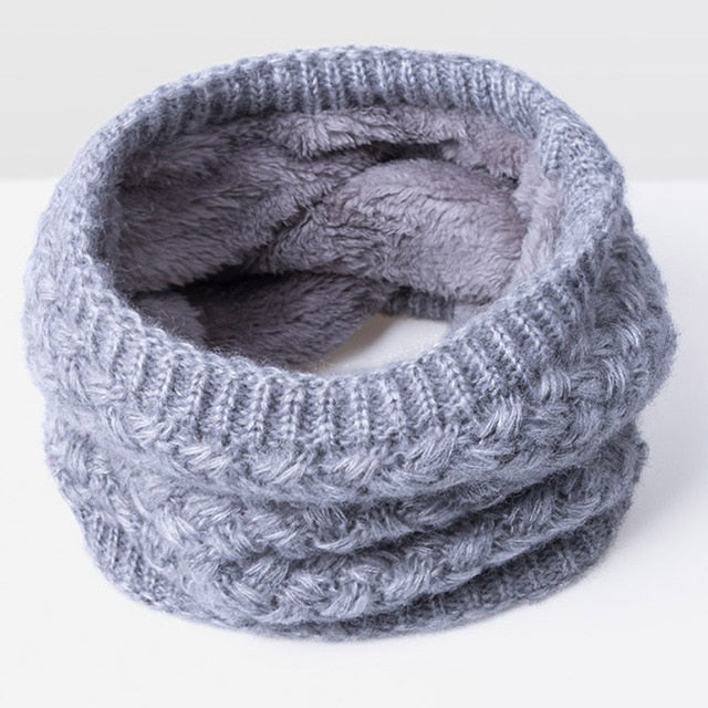 Thickened Wool Neck Scarf