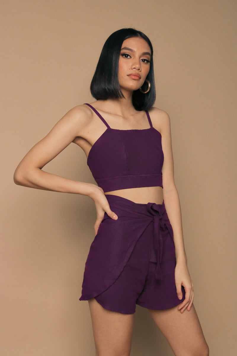 Tina in Plum