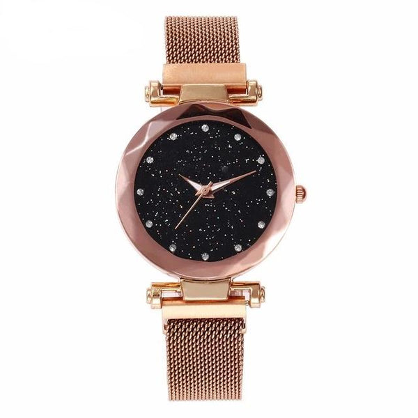 Casual Luxury Woman Geometric Surface Quartz Watches