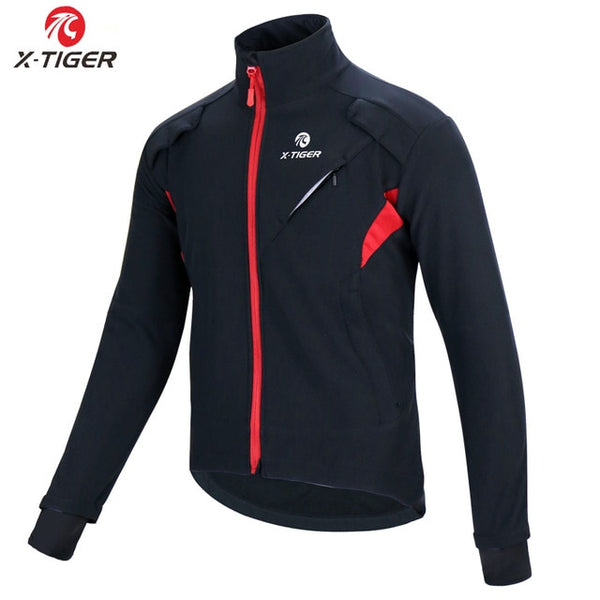 X-Tiger Winter Fleece Thermal Cycling Jacket Coat