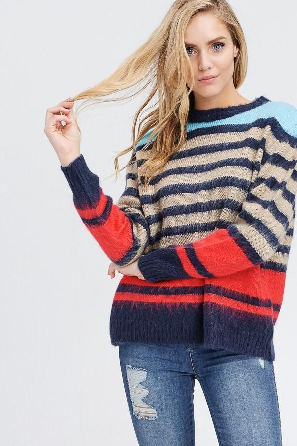 Striped sweater - fall 2020 collection