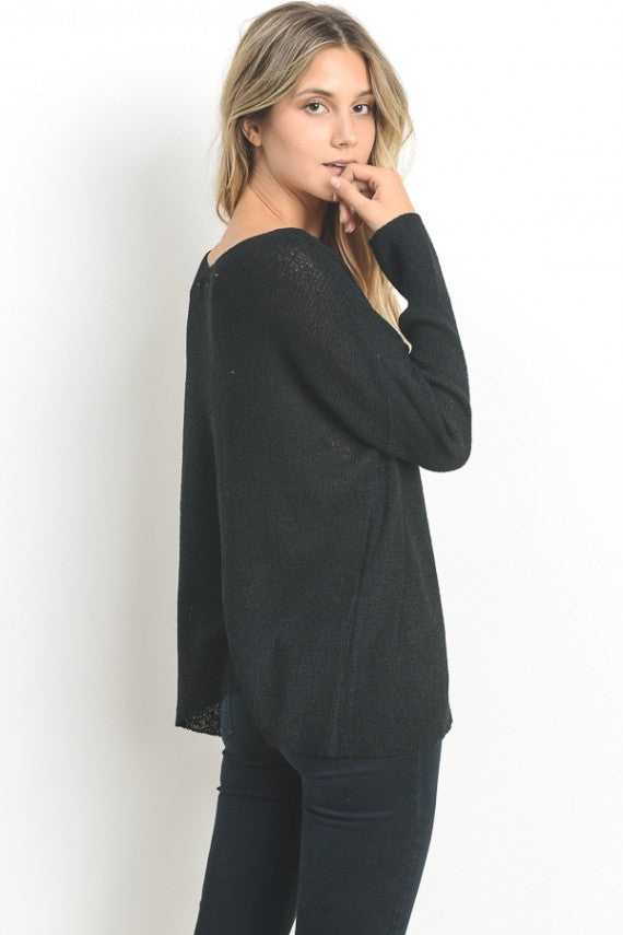 Free As A Bird Knit Sweater - HeartsEase Clothing