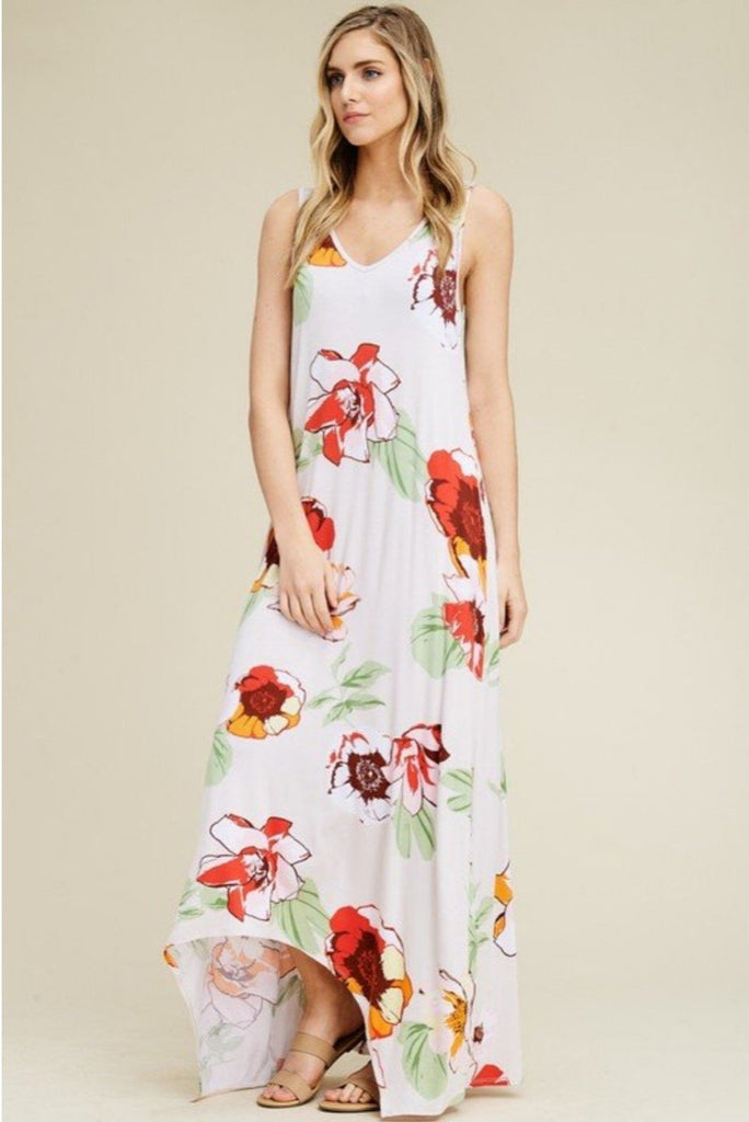 Havana - Floral Maxi with Pockets