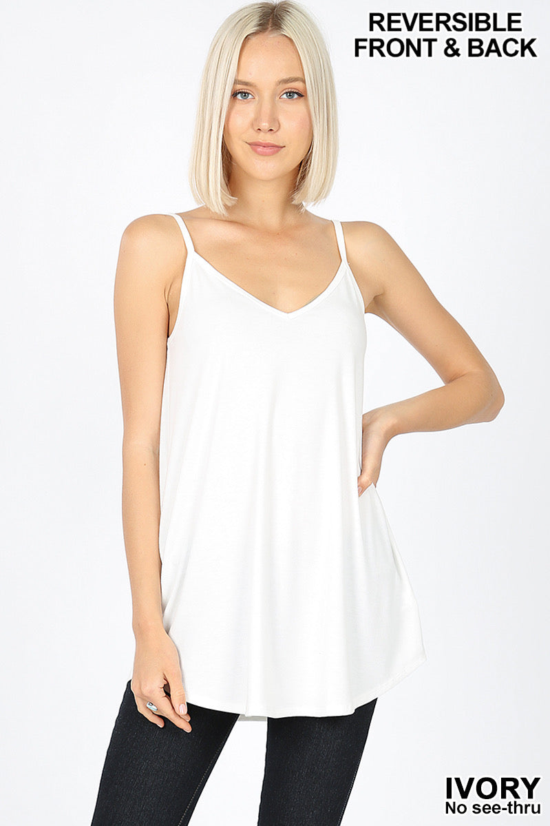 Reversible Cami - Ivory - HeartsEase Clothing