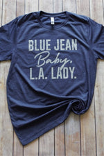 LA Lady Graphic Tee - HeartsEase Clothing