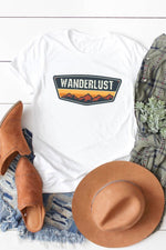 Wanderlust Adventure Graphic Tee - HeartsEase Clothing
