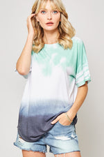TWO LEFT Ombre Tie-Dye Tee - HeartsEase Clothing