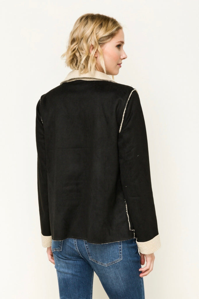 Holly - Raw Edged Jacket