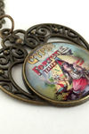 Vintage Fortune Teller Necklace - HeartsEase Clothing