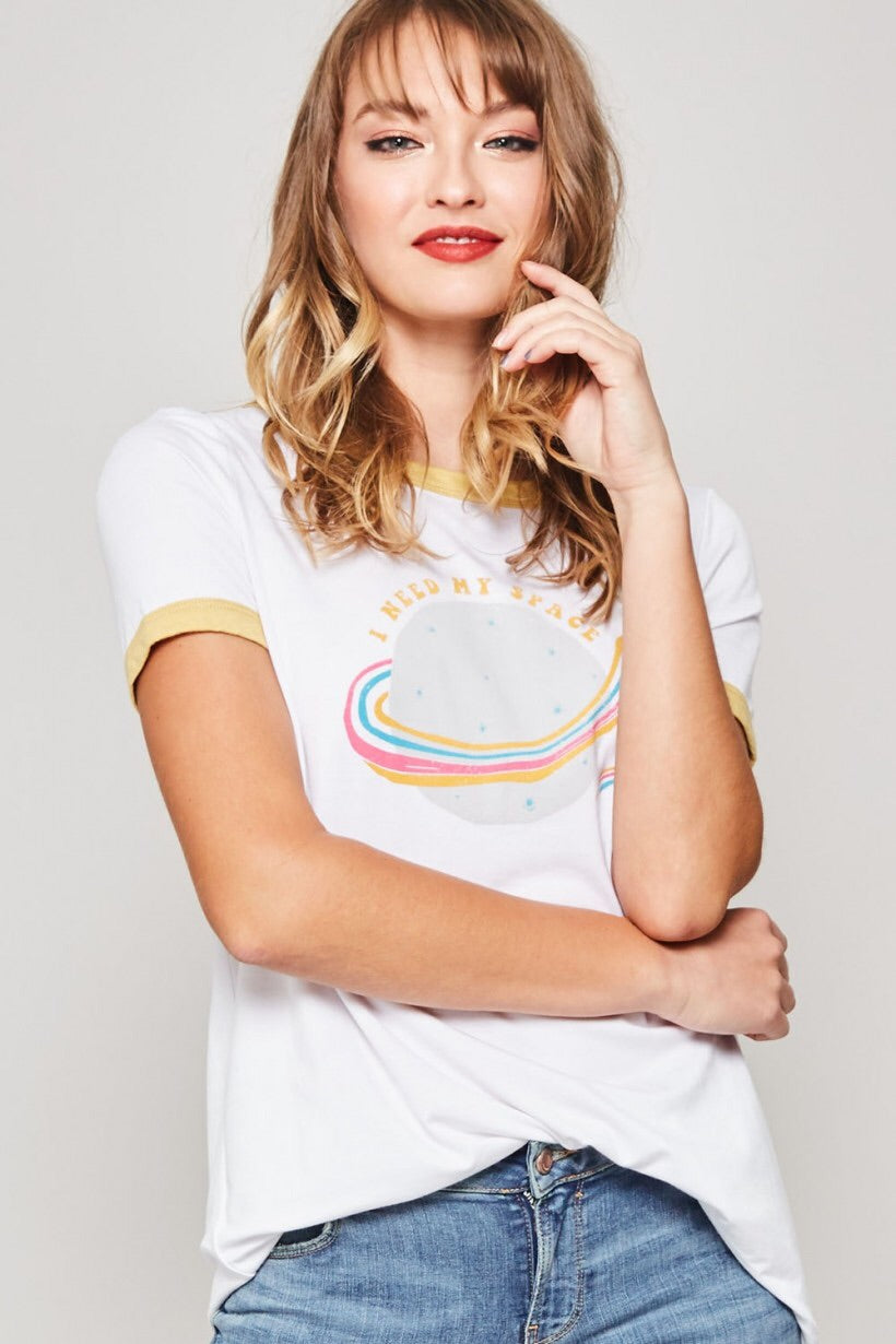 I Need My Space Graphic Tee - HeartsEase Clothing
