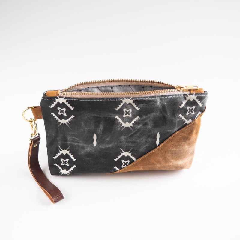 Black Tribal Wristlet - HeartsEase Clothing