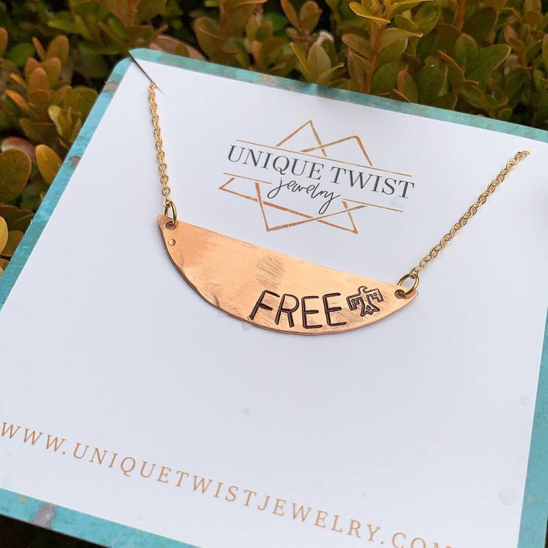 Free Bird Necklace - HeartsEase Clothing