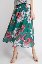 Spring Breeze Floral Maxi Skirt - HeartsEase Clothing