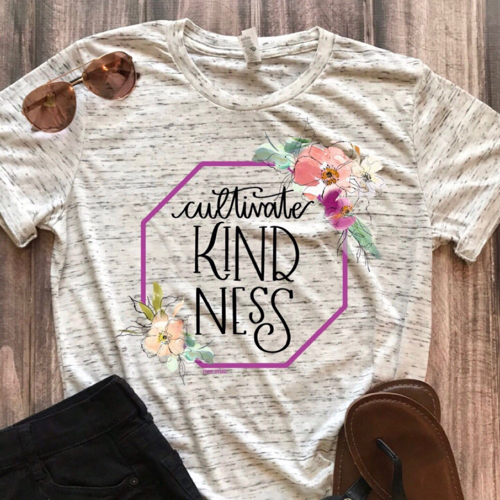 Cultivate Kindness Graphic Tee - HeartsEase Clothing