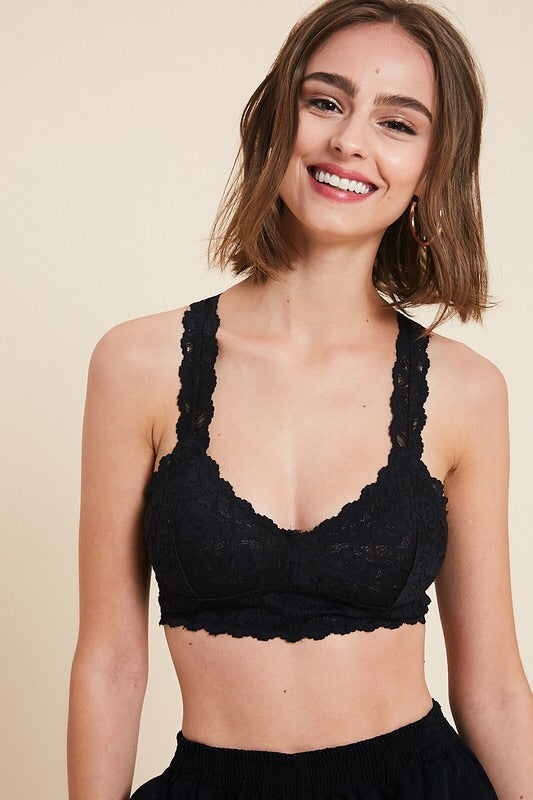 Racerback Bralette - 4 COLORS - HeartsEase Clothing