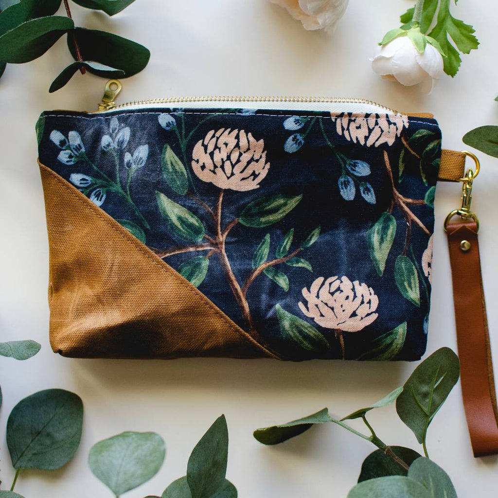 Peony Wristlet - HeartsEase Clothing